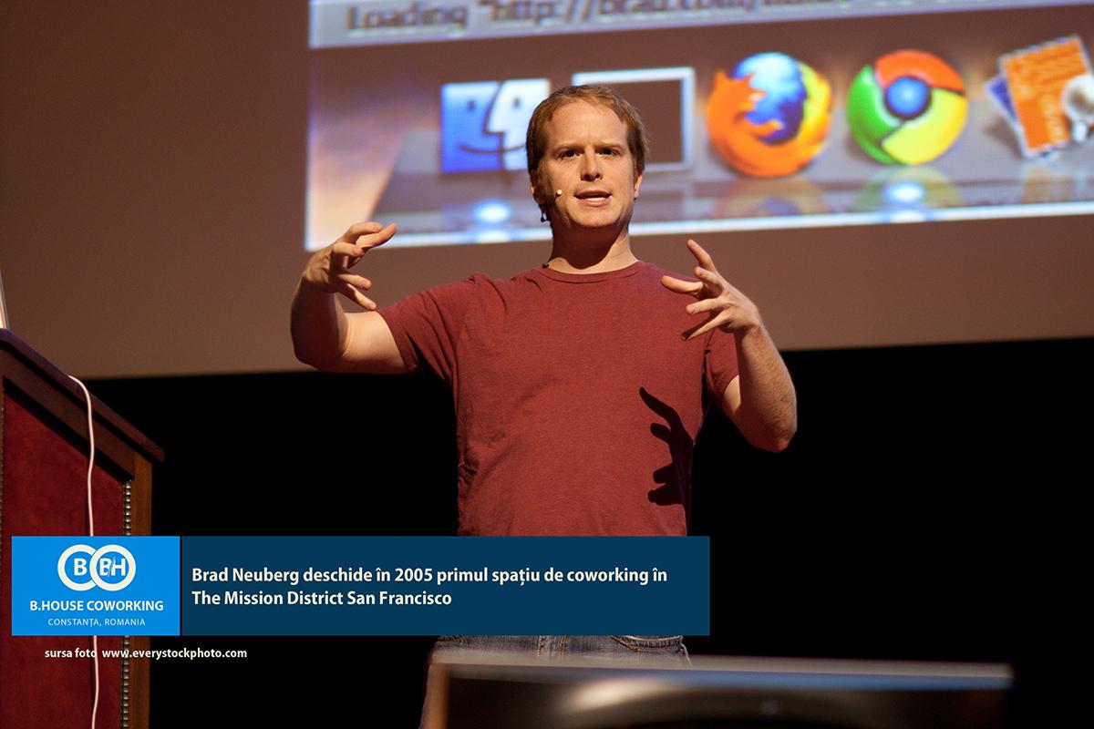 Bhouse-Coworking-Constanta-Brad fondatorul Primului Coworking din San Francisco 2005
